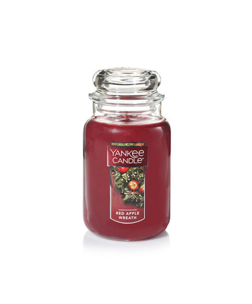Yankee Candle ароматна свещ RED APPLE WREATH